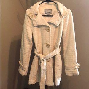 Daytrip Cream Textured Jacket